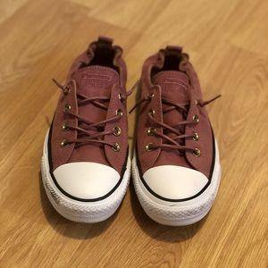 Mauve Converse